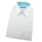 【南紡購物中心】【襯衫工房】長袖襯衫-白色網目織紋