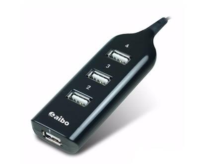 新竹【超人3C】aibo Y196 延長線造型 USB2.0 HUB集線器 獨家設計造型輕巧 提供USB2.0高速傳輸