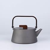水壺-純鈦木質手把輕巧茶壺74aj38[時尚巴黎]