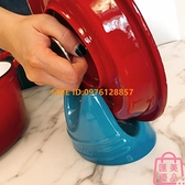 廚房陶瓷鍋蓋架砂鍋鑄鐵鍋炒鍋創意實用蓋子架子砧板架【匯美優品】