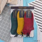 春秋季純棉襪淺口韓版薄款船襪