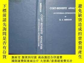 二手書博民逛書店Cost-Benefit罕見Analysis: An Infor