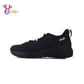 FILA運動鞋 女鞋 跑步鞋 慢跑鞋 透氣網布 健身房 SHADOW WALKER D9994#黑色◆OSOME奧森鞋業