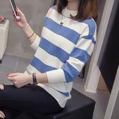 保暖 針織L-4XL 微胖大碼女裝秋冬新款內搭毛衣針織打底衫厚3F103 .710韓依紡