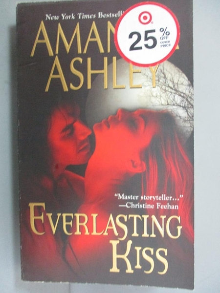 【書寶二手書T6/原文小說_JQY】Everlasting Kiss_Ashley, Amanda