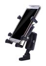 車之嚴選 cars_go 汽車用品【AA300102】六爪機車手機架(4-6吋手機)短臂款全配組 附高彈性固定帶