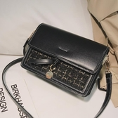 上新小包包女2020新款潮韓版百搭斜挎包簡約時尚小方包網紅小黑包 超值價