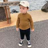 兒童毛衣 半高領毛衣冬裝秋冬裝幼兒童男童針織衫小童女寶寶線衣打底衫【星時代女王】