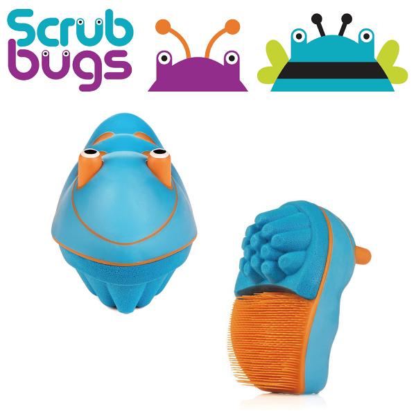 美國 Scrub Bugs 兒童洗手訓練刷(洗手蟲) 藍色