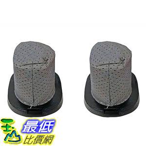 [106美國直購] 2 Dirt Devil Style F25 Filters Nos. 2SV1102000, 3SV0980000