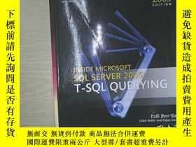 二手書博民逛書店Inside罕見Microsoft? SQL Server? 2005: T-SQL Querying (Soli