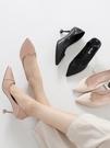 高跟鞋 高跟鞋少女細跟新款春季韓版百搭尖頭秋季小清新貓跟5cm單鞋 雙十二