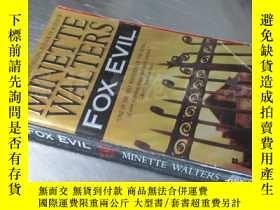 二手書博民逛書店Fox罕見Evil【36開 英文原版】Y16472 Minette Walters Berkley Books