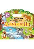 My Sticker Book  Animals(手提貼紙書  動物 英文版)