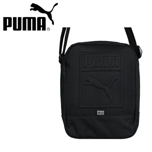 【橘子包包館】PUMA 側背包/斜背包 07558201 黑色