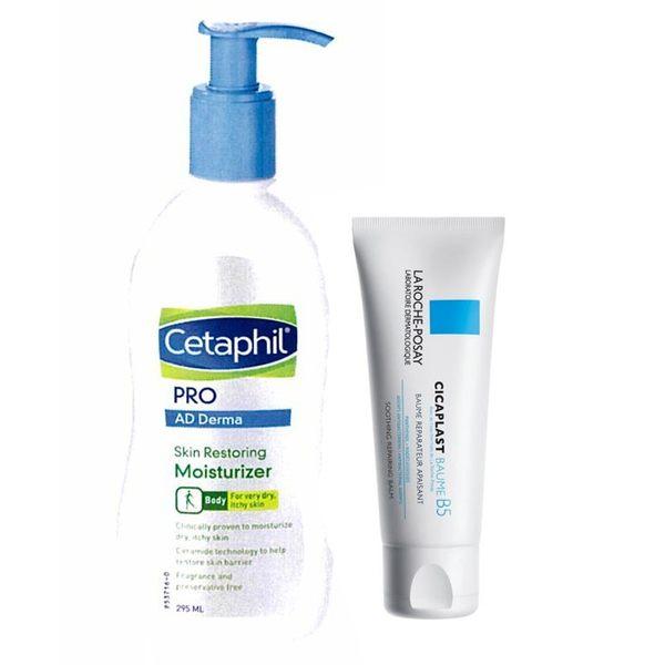 舒特膚 AD異膚康修護滋養乳液+理膚寶水 全面修復霜 40ml