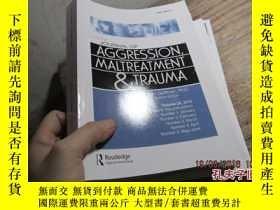 二手書博民逛書店journal罕見of aggression,maltreatm