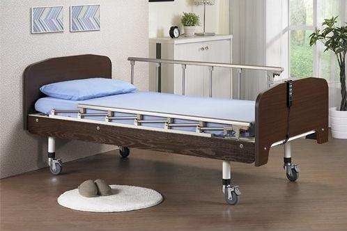電動床/ 電動病床(鋼骨耐重系列) 雙馬達 標準木飾造型板 贈好禮