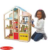 【華森葳兒童教玩具】扮演角系列- Melissa&Doug 原木電梯小屋 N7-2462