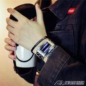 情侶對裱禮物女生送男朋友18歲成人禮韓國創意個性情侶手錶  潮流前線