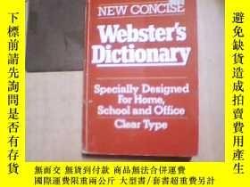 二手書博民逛書店NEW罕見CONCISE Webster s Dictionar