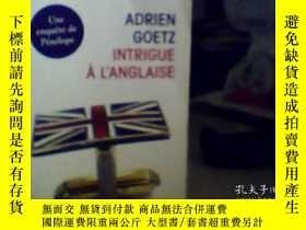 二手書博民逛書店法文原版罕見Intrigue a L AnglaiseY1718