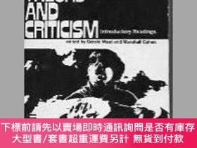 二手書博民逛書店Film罕見theory and criticism;: Introductory readings-電影理論與批
