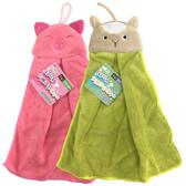 動物造型擦手巾(約32x38cm)/K7773綠羊、K7774小豬