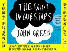 二手書博民逛書店英語有聲罕見The Fault in Our Stars 8張聽