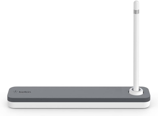 [9美國直購] 專用鉛筆盒 Belkin Apple Pencil Case + Apple Pencil Stand for iPad (F8J206btGRY)