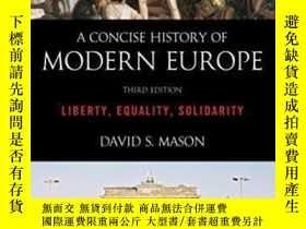 二手書博民逛書店A罕見Concise History Of Modern Europe-現代歐洲簡史Y436638 David