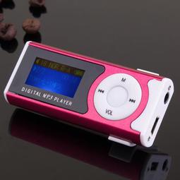MP3播放器(現貨) 學生運動跑步隨身聽 有屏插卡可愛迷你音樂【現貨/免運】