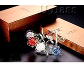 水晶玻璃夜光玫瑰花 精美禮盒 手工製作 母親節七夕情人節最佳禮物 真心祝福永不凋零 愛情