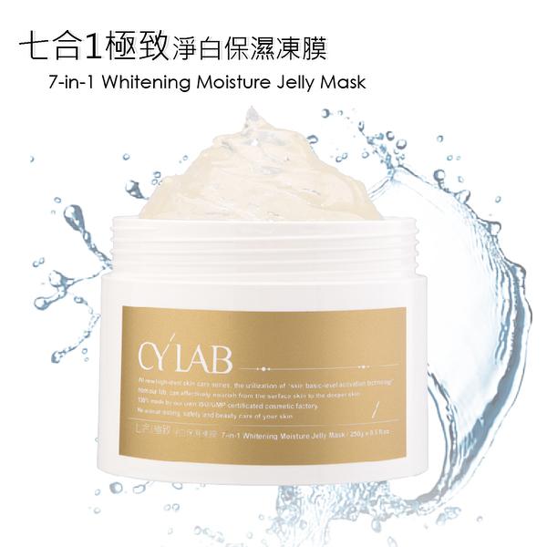 CYLAB 七合1極致淨白保濕凍膜 250g 台灣製造MIT 亮白 修護 補水
