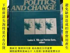 二手書博民逛書店WOMEN罕見POLITICS AND CHANGE;女性政治與