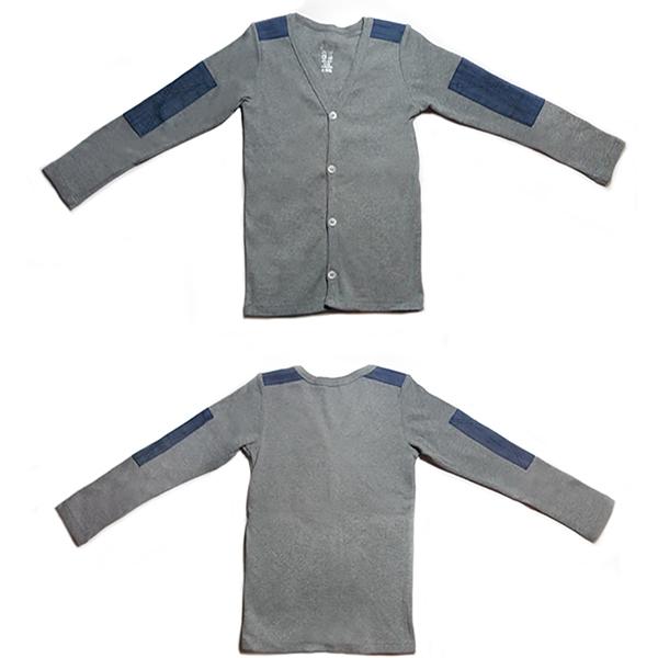 GOOMI台灣第一文創童裝【小童-拼接罩衫】共2色