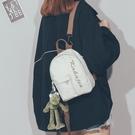 韓版原宿ins帆布雙肩包小包女2021新款斜挎百搭學生迷你書包背包一米陽光
