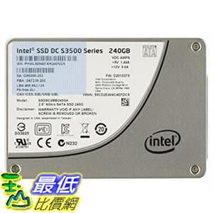 [106美國直購] Intel Solid-State Drive DC S3500 Series SSDSC2BB240G401 240GB 260 MB/s