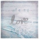 布質壁畫 Ocean love 3636...
