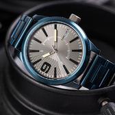 DIESEL 沉穩灰藍個性腕錶 DZ1872 熱賣中!
