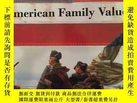 二手書博民逛書店American罕見Family Values Vol 1 Pa