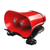 12V擴音器喇叭戶外地攤叫賣喊話器車載宣傳大功率錄音播放器車頂 英雄聯盟