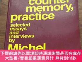 二手書博民逛書店Language,罕見Counter-memory, Practice, Selected Essays And