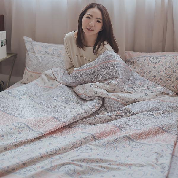 青花瓷 K1 King Size床包三件組 100%精梳棉 台灣製