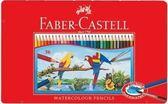 【輝柏 輝伯 Faber-Castell】水性彩色鉛筆 36色 (鐵盒裝) 水彩色鉛筆