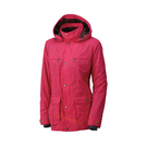 [Wildland] 荒野 (女) 絲絨裡防風保暖外套 玫瑰紅 (0A32907-20)