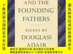 二手書博民逛書店Fame罕見And The Founding Fathers-名望與開國 勛Y436638 Douglass