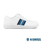 K-SWISS Court Clarkson S SE休閒運動鞋-男-白/藍