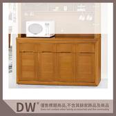【多瓦娜】19058-726006 香檜5.2尺碗碟櫃(399)(下座)(不含石面)