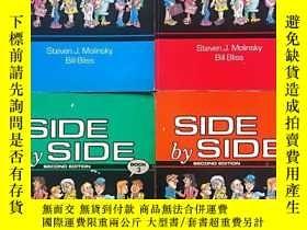 二手書博民逛書店SIDE罕見BY SIDE SECOND EDITION(1-4
